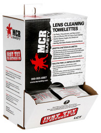 Glasses, MCR Anti-Fog Wipes, 100 Per Box, 10 Boxes Per Case