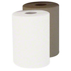 "Spring Grove 7.7"" x 800' Natural Roll Towel - 6 Per Case"
