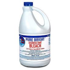 Pure Bright Bleach, 1 Gal Bottle Liquid, 6 Bottles Per Case
