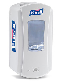 C-Purell Touch Free Hand Sanitizer Dispenser, 1200ML, White - 4 Per Case