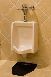 Wizkid Urinal Mat / Antimicrobial / 12 Per Case / Black