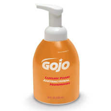 GOJO Table Top Antibacterial Foam Soap - 4 Per Case (Orange Container)