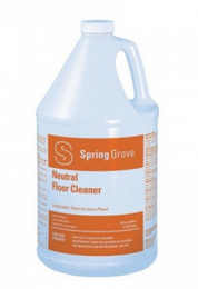 Spring Grove, Neutral Floor Cleaner,1 Gallon Bottle, 4 Bottles Per Case