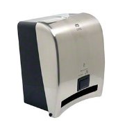 Tork Intuition Roll Towel Dispenser - Stainless Steel Finish