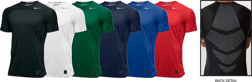 Hypercool Fitted Custom Nike Shirts