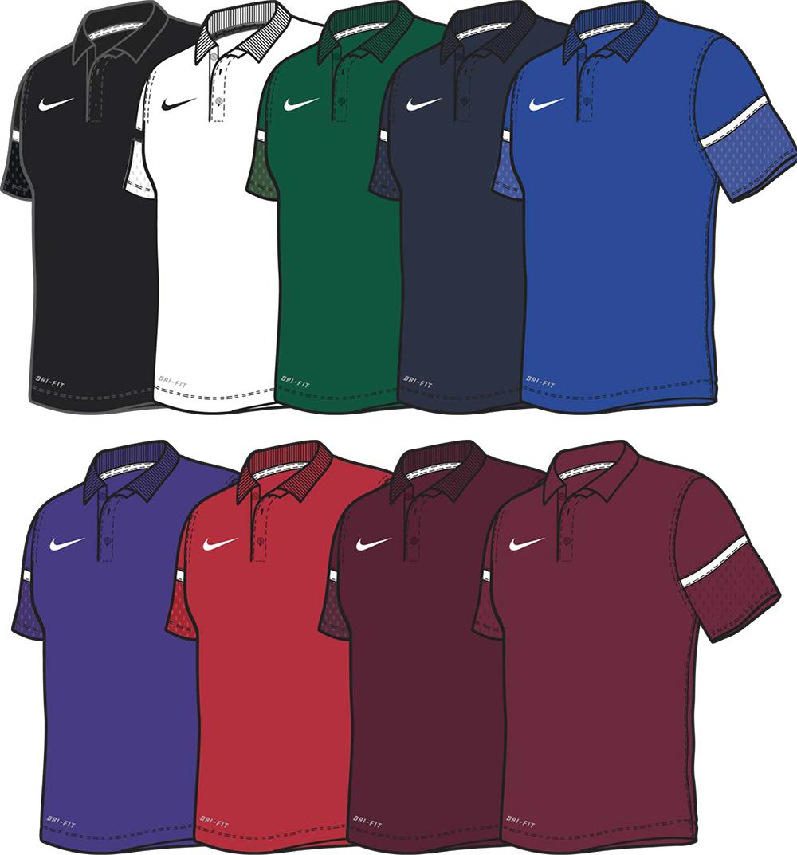 Nike Team Issue Custom Polo Shirts Elevation Sports