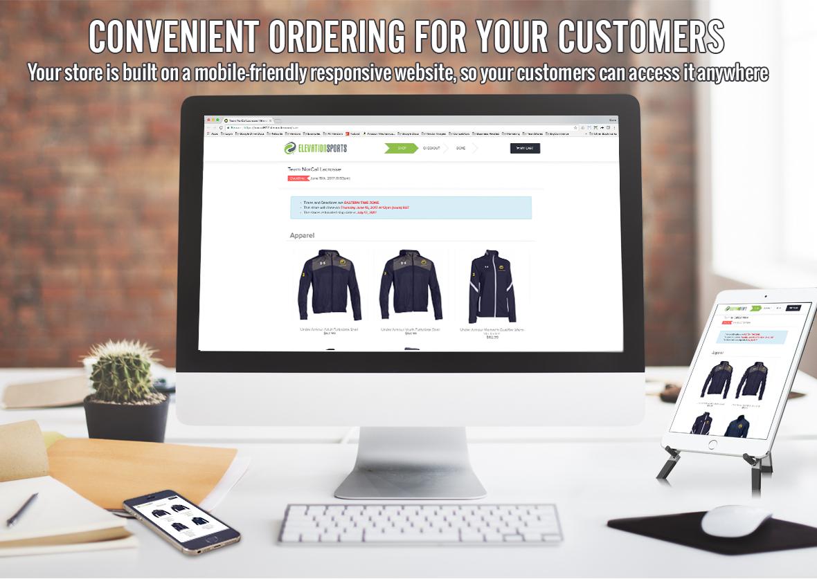 Convenient Online Ordering
