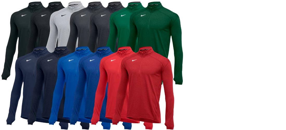 Custom Nike Half Zip Pullover Shirt
