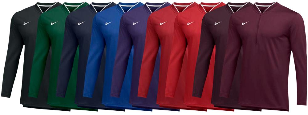 Custom Nike Half Zip Coaching Pullover Jackets