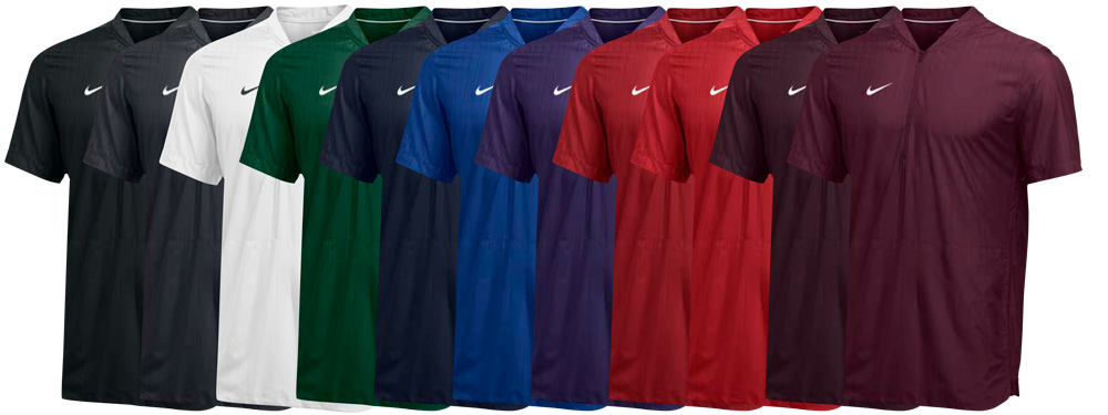 Nike Lockdown Pullover Short Sleeve Jacket