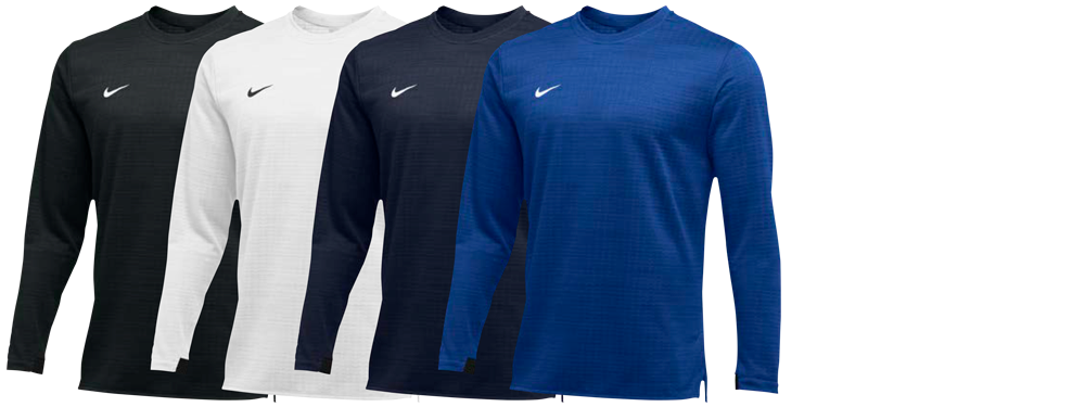 Custom Nike Long Sleeve Coaching Shirts