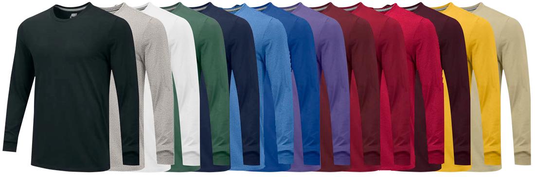 Custom Nike Long Sleeve Cotton T-Shirts