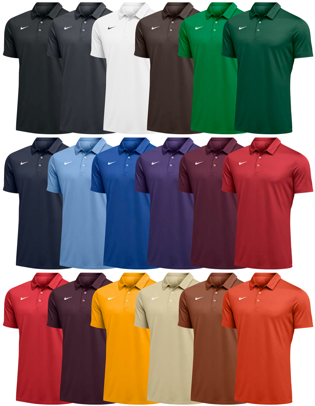 Custom Nike Polo Shirts