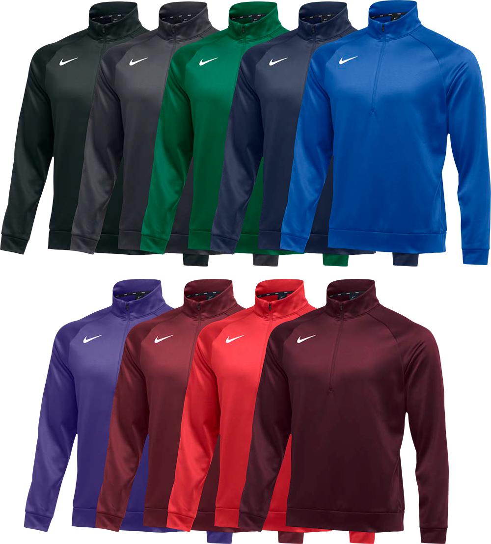 Custom Nike Sweatshirts - Therma Quarter Zip Pullover b15f7075de01