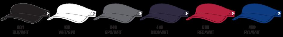 Custom Under Armour Softball Visors