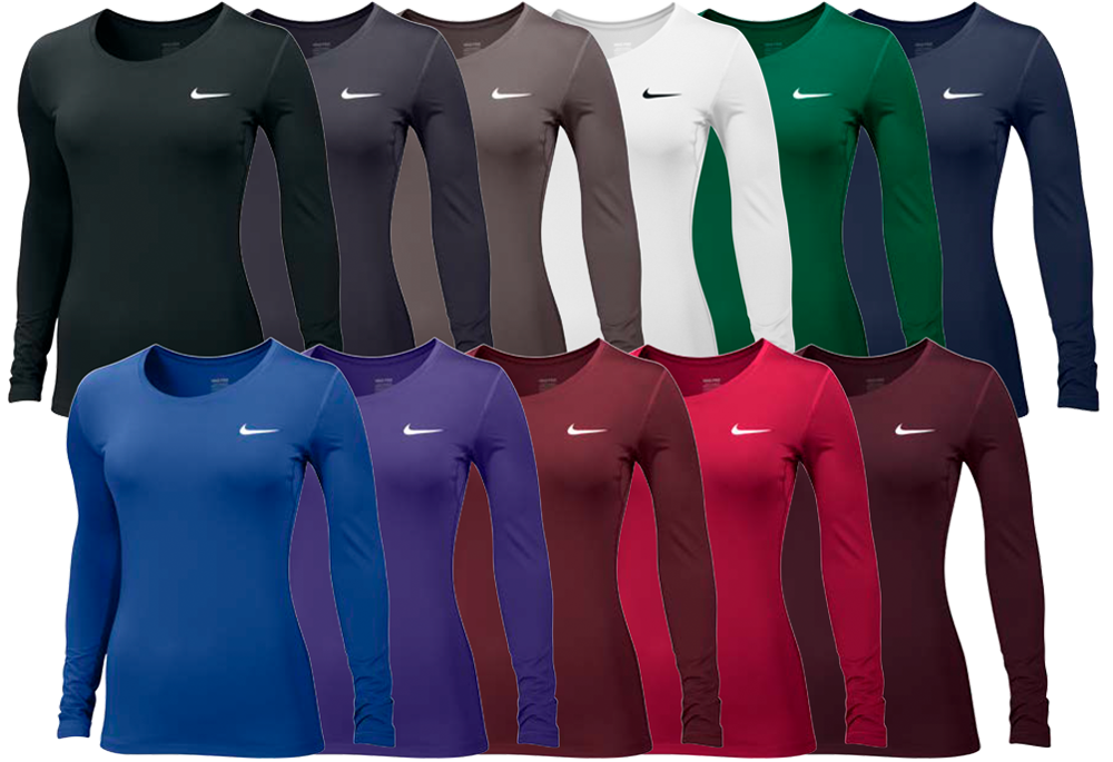 Nike Women's Pro Cool Long Sleeve Fitted Shirt