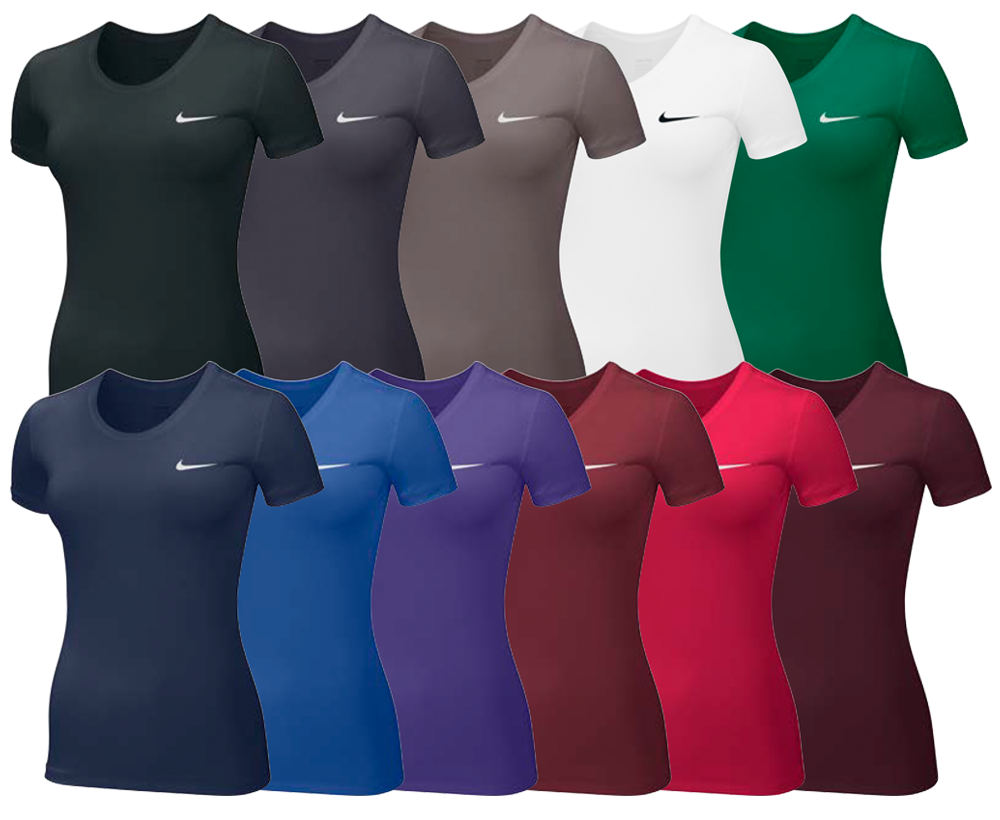 Nike Women's Pro Cool Custom Shirts