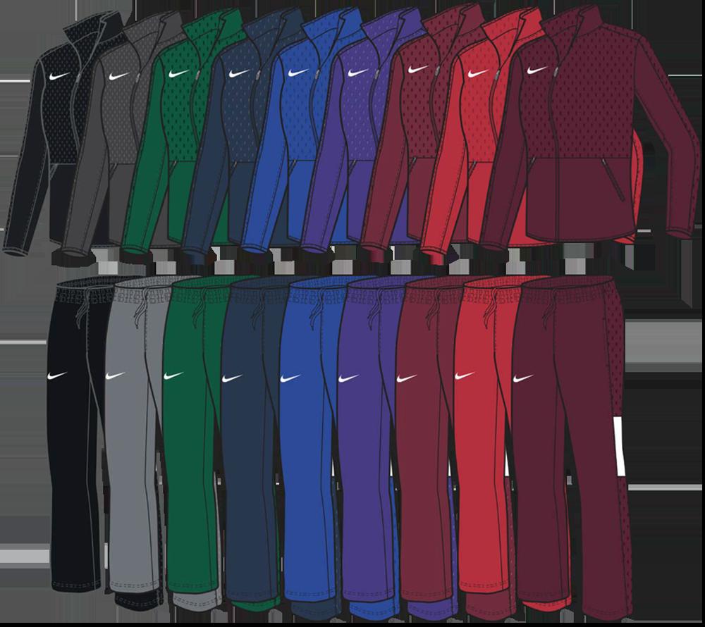Nike Women's Rivalry Custom Warm-Up Jackets
