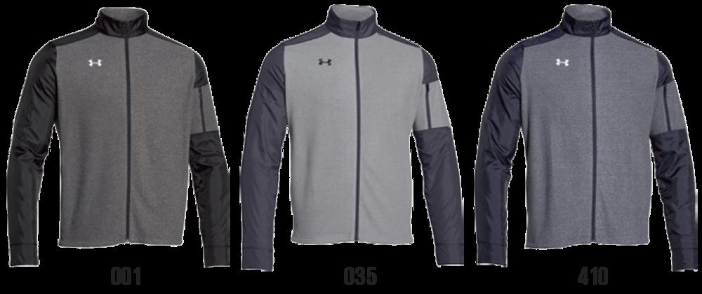 Custom Under Armour Full-Zip Sweatshirts