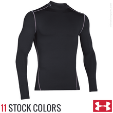 Custom Under Armour Coldgear Compression Shirt - Mock Neck
