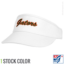 The Game White High Front Custom Visors