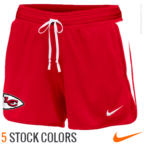 Custom Nike Women's Shorts Infiknit Mid Pockets