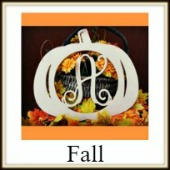 Shape Framed Monogram Fall