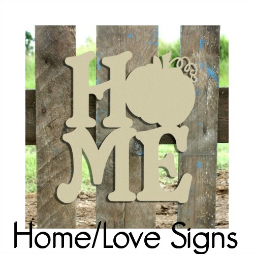 Home Love Signs