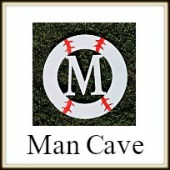 Shape Framed Monograms Man Cave