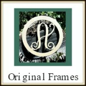 Shape Framed Monogram Original Frame