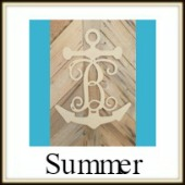 Shape Framed Monogram Summer