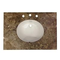 marble and granite vanity countertops - Bathroom Vanities Dallas Area