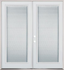 "62"", 66"", 74"" French Door - Full Mini Blind - prehung"