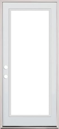 30 32 36 Inch Clearview Exterior Steel Door Prehung