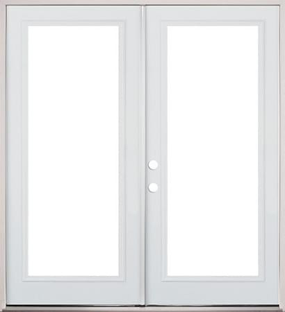 Clearview french metal exterior door prehung doors for Prehung exterior french doors