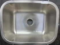 "Stainless Steel Utility Undermount Sink 23.25""x17.5"""