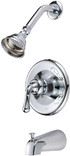 136617 Tub and Shower Mixer, Chrome