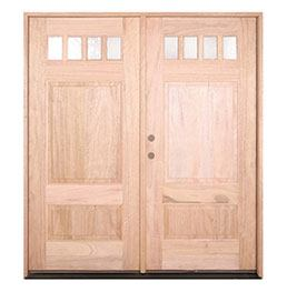 Mahogony Double Door