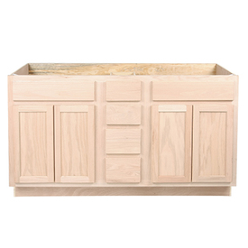 Bath vanities unfinished vanity cabinets surplus - Unfinished furniture bathroom vanity ...