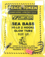 Black Sea Bass Rigs - Glow Tube 2 Hook Rigs