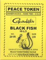 Black Fish Rigs - HI-LO - 2Hooks