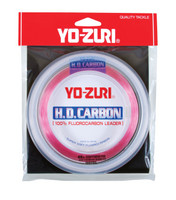Line - Yo-Zuri HD Carbon Fluorocarbon 30 Yds (Disappearing Pink)