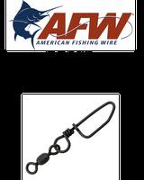 Swivels - AFW Brass Coastlock Snap Swivels