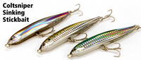 Shimano Lures - ColtSniper Sinking Stickbait 120S