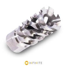 14mm x 1 LH 'Walking Dead' Muzzle Brake - Stainless Steel