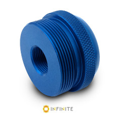 14mm x 1 LH to D Cell Maglite Adapter - Blue