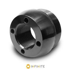 i4003 Curved End Cap - Black Anodized Aluminum