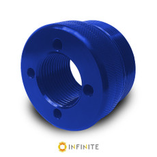 i4003 Flat End Cap - Blue