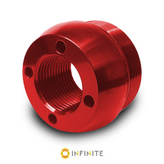 i4003 Curved End Cap - Red