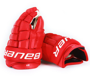 "14"" Easton 4 Roll Pro STD Gloves - Steve Ott Detroit Red Wings"